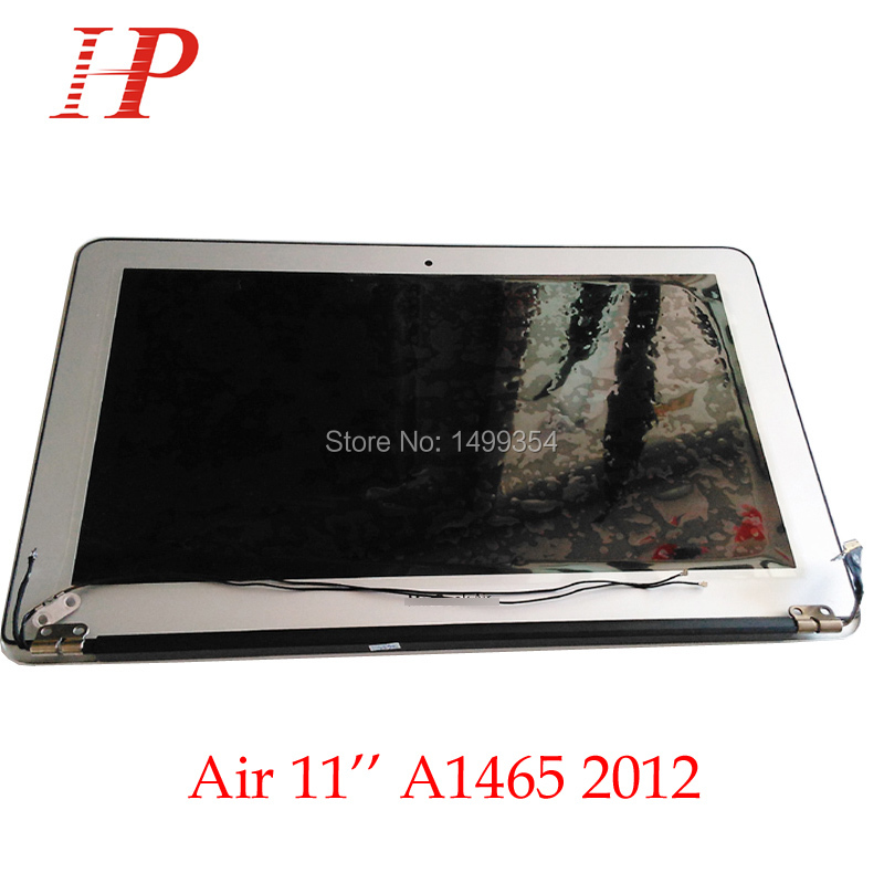 100% Genuine New 2012 Year A1465 LCD Screen Assembly For Apple Macbook Air 11'' A1465 LCD Assembly 1366*768 MD223 MD224 funry us 2 gang light smart switch crystal glass panel wireless touch remote control 110 220v surface waterproof interruptor
