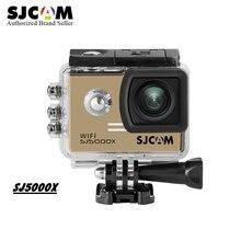Original SJCAM SJ5000X Elite WiFi 4K 24fps Diving 30M Waterproof Action Camera Sj Cam sports DV helmet camera with accessories