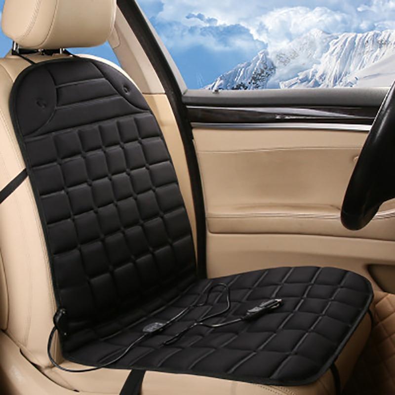 все цены на 12V Car Heated Seat Covers Heater Universal Winter Car Seat Heating Pad Keep Warm Single Double Cushions for Winter онлайн