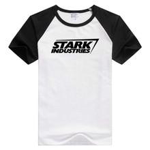 FOR Stark Industries Iron Man short sleeve casual Men Women T-shirt Comfortable Tshirt