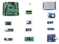 OpenEP4CE10 C Package A EP4CE10 EP4CE10F17C8N ALTERA Cyclone IV FPGA Development Board 12 Accessory Modules Kits