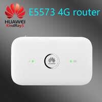 Desbloqueado huawei E5573 4g módem wifi E5573s-606 3g 4g router 150 m 3g 4g wifi enrutador con ranura para tarjeta sim hotspot portátil E5573s