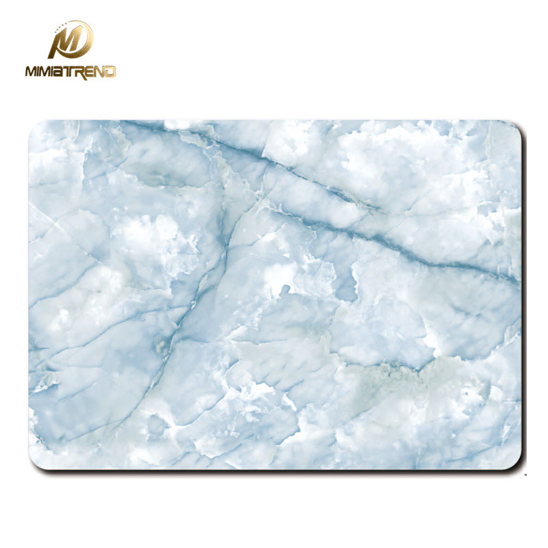 mimiatend blue marble grain full body cover laptop stickers for apple macbook air pro retina 11