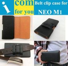 Чехол Зажим для Ремня Кожаный case для NEO M1 № 1 S7 Lenovo A560 ZTE Q801U Neken N6 Cubot P9 ZTE Star 1 LTE Для Наружного деятельность