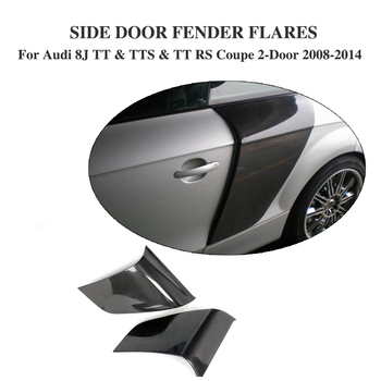 Боковая дверь из углеродного волокна, лезвие, брызговик, дверная защита, панели для Audi 8J TT & TTS & TT RS Coupe 2 дверного 2008 2014 2 шт./компл.