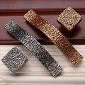Novo estilo clássico europeu de liga de zinco de prata / ouro de alça / puxador Knob