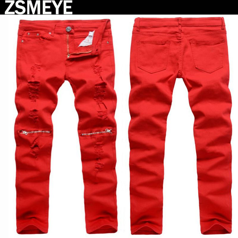 Popular Red Jeans Winter-Buy Cheap Red Jeans Winter lots from