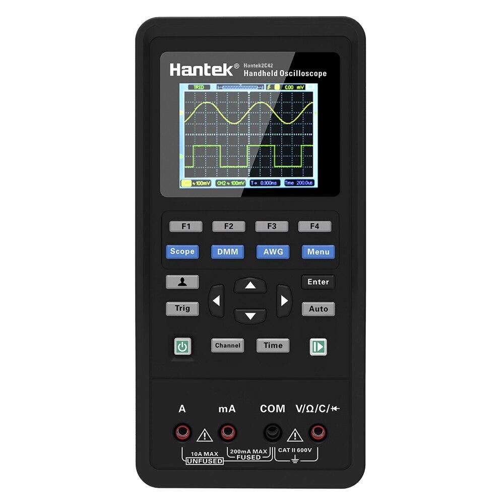 2 in 1 Digital Oscilloscope Multimeter USB Scopemeter Portable Scope Meter TFT LCD Test Meter With Self Calibration Function