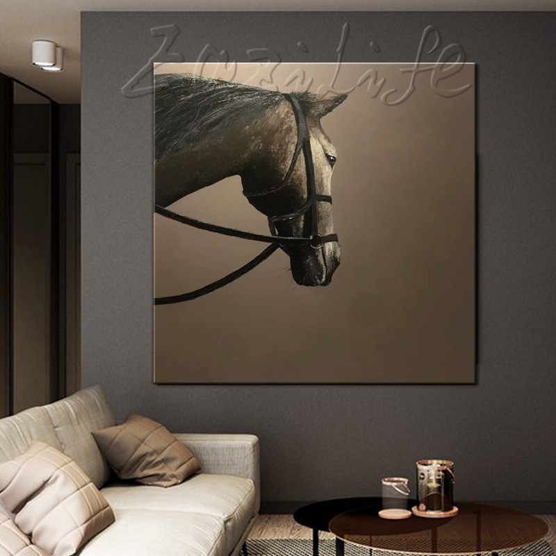 Hand Painted Original oil painting,horse painting,impasto,heavy texture,huge size,palette knife painting,Wall Art. Home DecorHand Painted Original oil painting,horse painting,impasto,heavy texture,huge size,palette knife painting,Wall Art. Home Decor