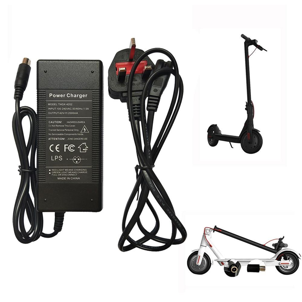 OEM Battery Charger For Xiaomi Mijia M365//Ninebot Segway ES1//ES2//ES3//ES4 Scooter