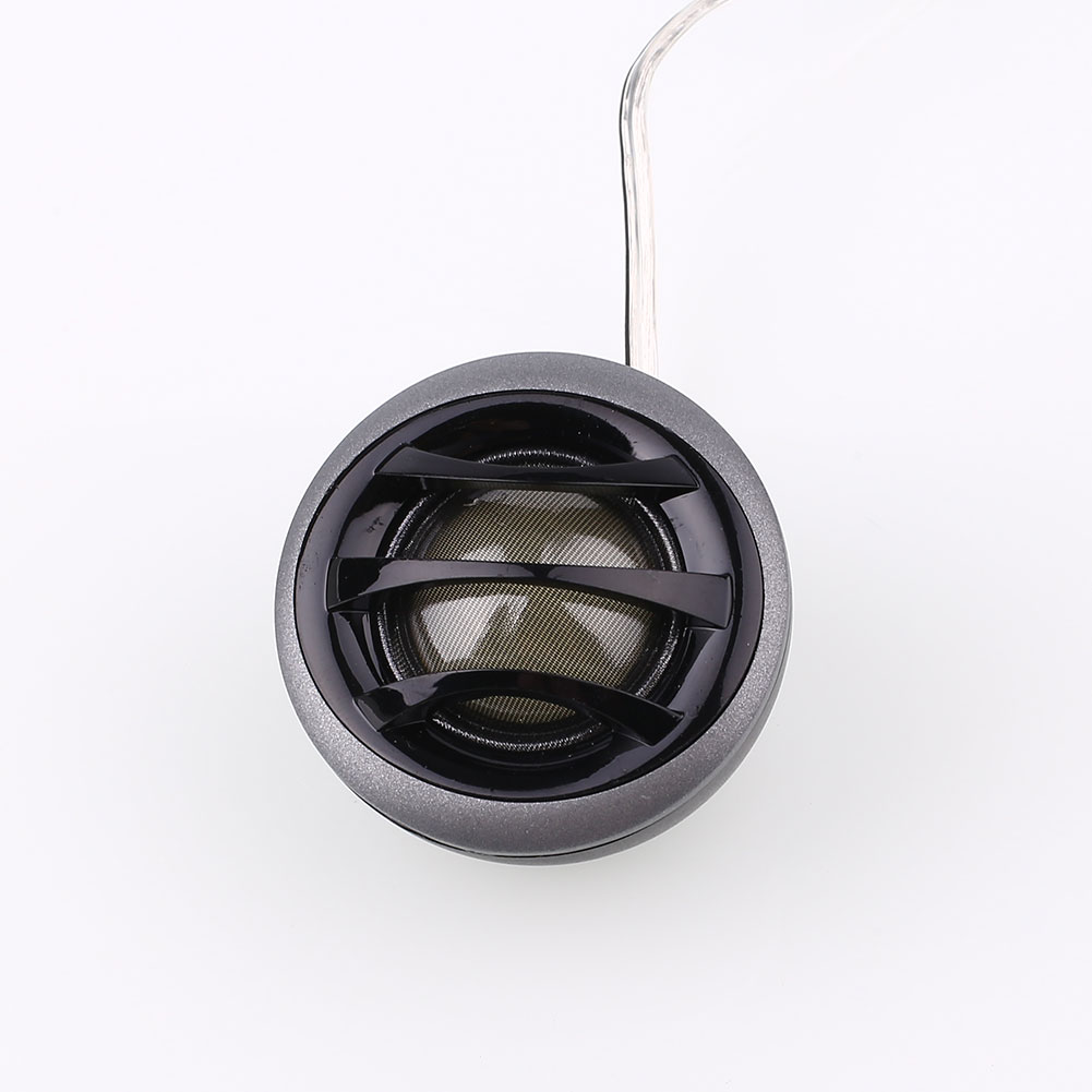 Vehemo 1Pair Speaker 150W Car Vehicles Audio Tweeters Loud Sound 4 Ohm Soft Kit Set