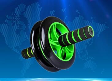 Sports fitness equipment abdominal abdomen multifunctional double wheel