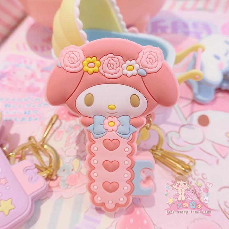 1 Pc Cute Cartoon Cinnamoroll my Melody Little Twin Stars Pudding Dog Comics Hair Pin Hair Clip for Girls Gift Toy Figure-1
