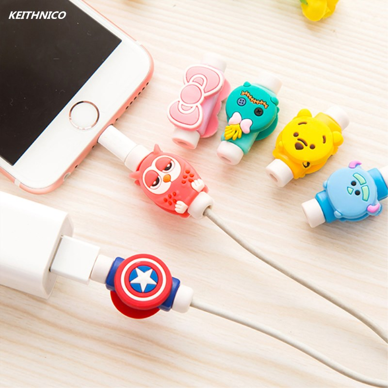 Aliexpress.com : Buy 2Sets Cartoon USB Charger Data Cable