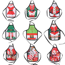 Small Apron bottle Wine Cover Christmas Sexy Lady/Xmas Dog/Santa Pinafore red wine bottle wrapper Holiday Bottle clothes Dress