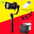 Zhiyun guindaste 3 eixos cardan handheld estabilizador para dslr canon câmeras suporte 1.2 kg guindaste zhiyun cardan