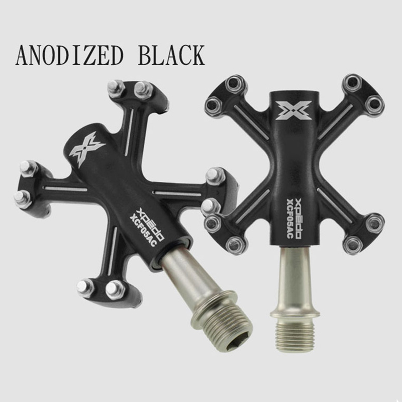 Wellgo Xpedo XCF05AC Ultralight Bicycle Pedals Aluminum Forged Road Mountain Bike Pedals Sealed Bearings Pedal