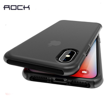 ROCK Anti-Knock Case for iPhone XS Max Heavy Duty Drop Protection Case for iPhone XS XR X Cover Matte Fitted Case Adsorption