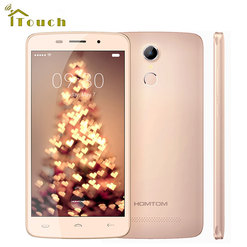 bilder für 5,5 Zoll Homtom HT17 Pro 4G Smartphone MTK6737 Quad Core Android 6.0 Handy 2 GB + 16 GB 3000 mAh 13MP Kamera 1280*720 Handy