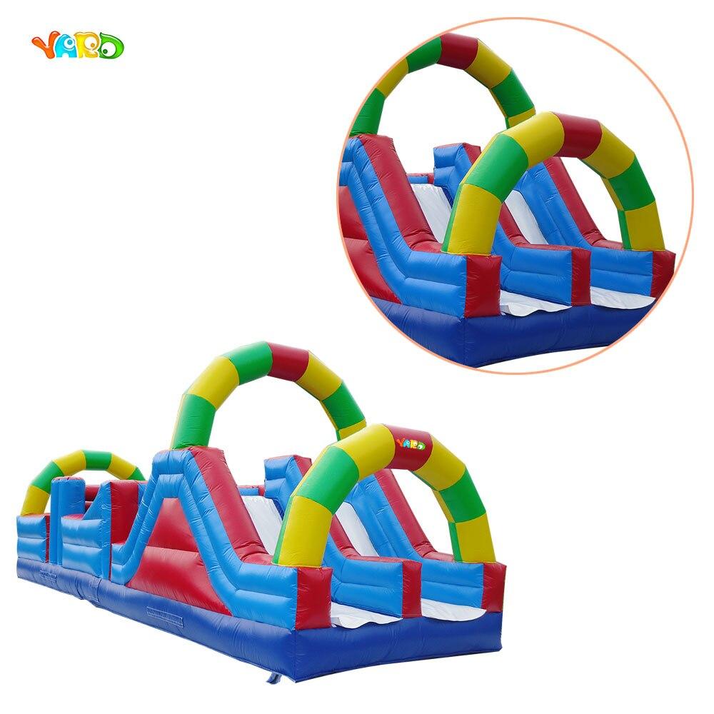 Parcours d'obstacles gonflable offre spéciale de qualité commerciale avec Arches