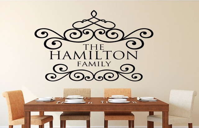 custom family wall decal family established year decal personalized