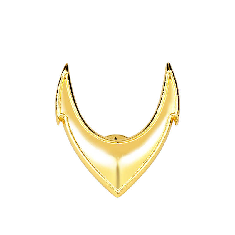 Dongsheng Perhiasan Film Justice League DC Aquaman Bros Kuning Enamel Superhero Lapel Pin Pria Lencana Pin Tack BROS-40