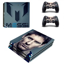 Lionel Messi PS4 Pro Skin Sticker Vinyl Decal