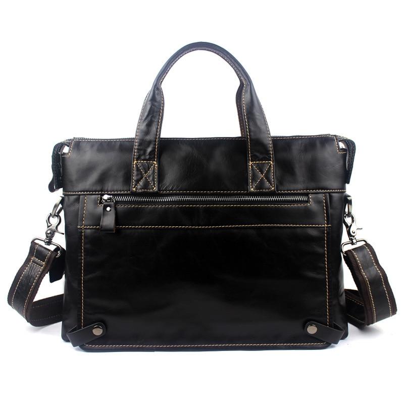 Bagaj ve Çantalar'ten Evrak Çantaları'de Avrupa Hakiki inek Deri çanta Iş Erkek çanta Laptop Çantası busBriefcases Crossbody çanta omuz çantası erkek askılı çanta'da  Grup 3