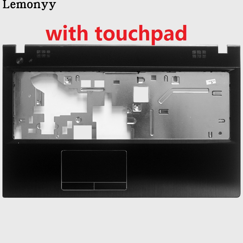 NEW <font><b>case</b></font> cover For <font><b>Lenovo</b></font> <font><b>G500</b></font> G505 G510 G590 Glossy Laptop Front Cover Palmrest COVER with touchpad image