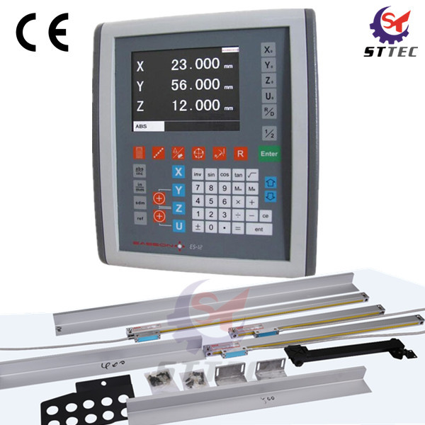 US $574 0 18% OFF|Free shipping Easson ES 12 miller, lathe, grinder 3 axis  digital readout DRO and 3 pcs GS10 linear scales-in Level Measuring