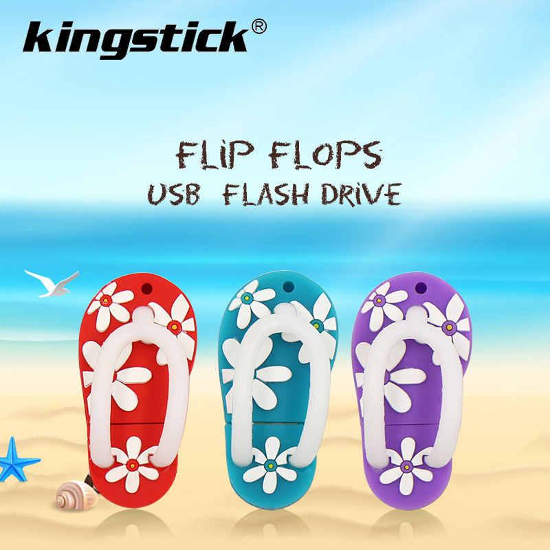 Pen Drive flip flops sapatos menina sandálias Memoria USB Flash Drive gb 8 4gb gb gb 64 32 16gb de Memória Flash da Vara Pendrive usb chave presentes