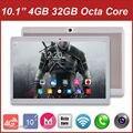 Бесплатная Доставка DHL 10 дюймов Octa Ядро Таблетки 4 Г LTE Android 6.0 Tablet 4 ГБ RAM 32 ГБ ROM Dual SIM Камеры 1920*1200 IPS Kid Подарков