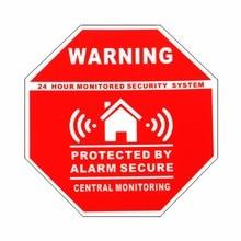 Safurance 5 шт. домашний дом сигнализация безопасности наклейки/наклейки знаки для окон и дверей Предупреждение безопасности
