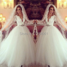 srui sker Long Sleeve Wedding Dress Ball Gowns Bridal Gowns