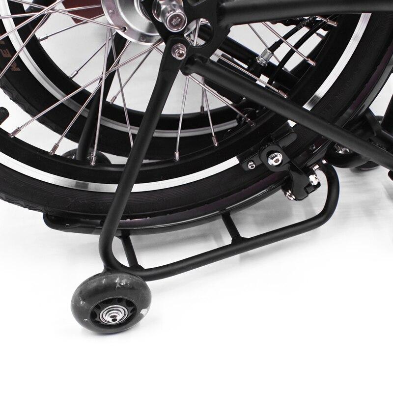 CNC anodisation Durable supports de vélo pour Brompton vélo vélo facile roue porte-bagages T6 Stable vélo aluminium accessoire 150g - 6