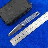 NIGHTHAWK оси BM485 дамасский узор сталь титановая ручка складной нож Кемпинг Карманный выживания Охота EDC инструмент кухонный нож