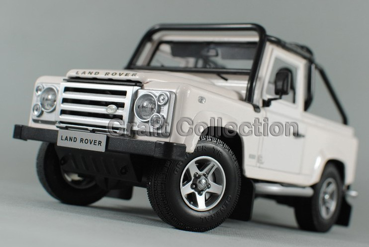 * Car Model for Red 1/18 Land Rover Defender SVX 68 Diecast Alloy Auto Modell Miniature Model Children Toys Hot Gifts