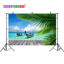 SHENGYONGBAO Art Cloth Custom Photography Backdrops Prop Board  Wood Planks theme Photo Studio Background S17924-20 kate board photo background wood chroma key photo backdrops photography studio backgrounds background cloth for shooting