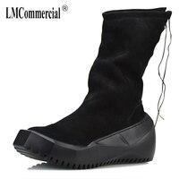 На осень зиму Британский ретро Ботинки Челси мужские универсальные Теплые Мужские модельные ботинки из натуральной кожи ботинки со стальн