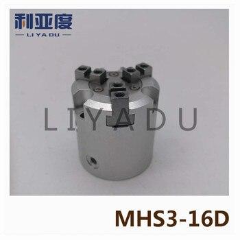 SMC type MHS3-16D cylinder Air Gripper 3-Finger Type MHS series