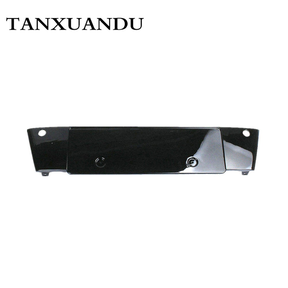 Front Bumper License Plate Holder Bracket Panel Grey or Bright Black Fit For AUDI A8 A8 Quattro 2006 2010 4E0807285 62.5 70CM