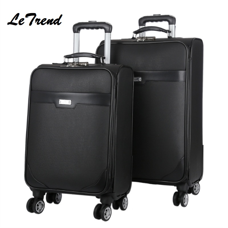 New Suitcase On Wheel High Quality Travel Luggage Hand Trolley Men Boarding Suitcase Large Capacity Travel Rolling LuggageNew Suitcase On Wheel High Quality Travel Luggage Hand Trolley Men Boarding Suitcase Large Capacity Travel Rolling Luggage