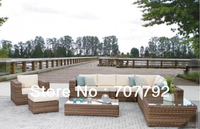 2013 nuevo estilo de mimbre muebles de terraza acristalada conjuntos ...