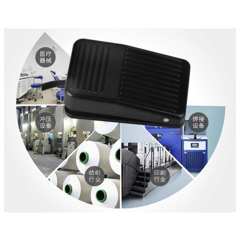 TFS-1 Voor IMC Antislip Metalen Momentary Electric Power Voetpedalen Met lijn 20 cm, Plastic Case