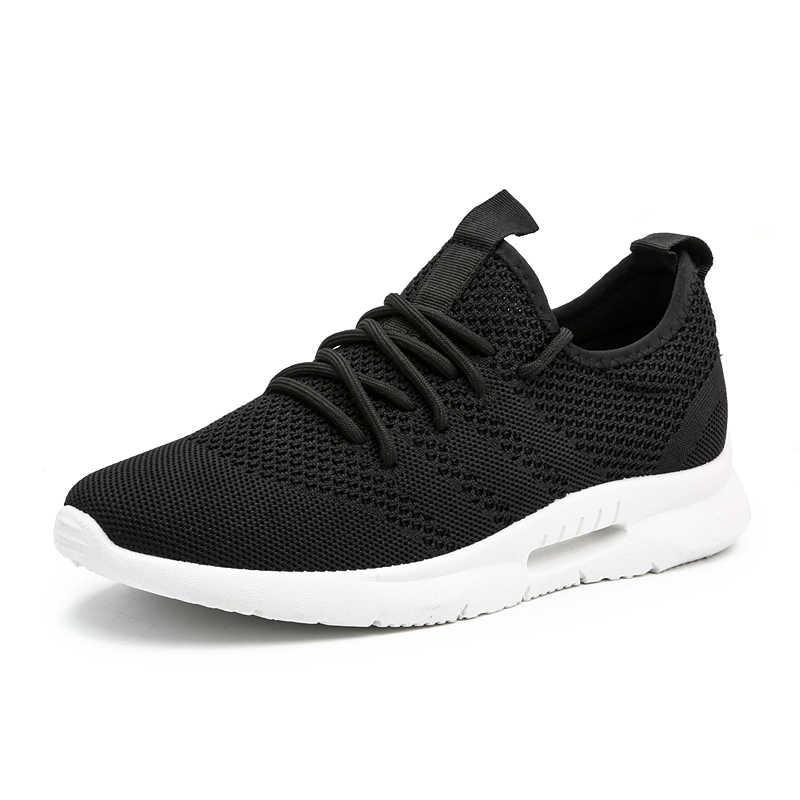 Aodlee Schoenen Mannen Sneakers Lichtgewicht Flyknit Heren Schoenen Ademende Zapatillas Mannen Casual Schoenen Schoeisel Mannelijke Zapatos Hombre