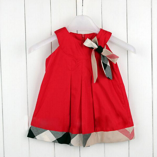 2016 Name brand baby dress summer casual baby girl ...