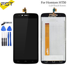 720*1280 For Homtom HT50 LCD Display and Touch Screen Digitizer Repair Parts For Homtom HT50 Accessory+Tools+Adhesive(China)