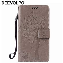 DEEVOLPO Leather Cases 3D Embossing Capa