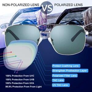 Image 2 - Cyxus  Polarized Sunglass Classic UV 400 Square Shades Men Women with UVA UVB Protection Unisex 1002