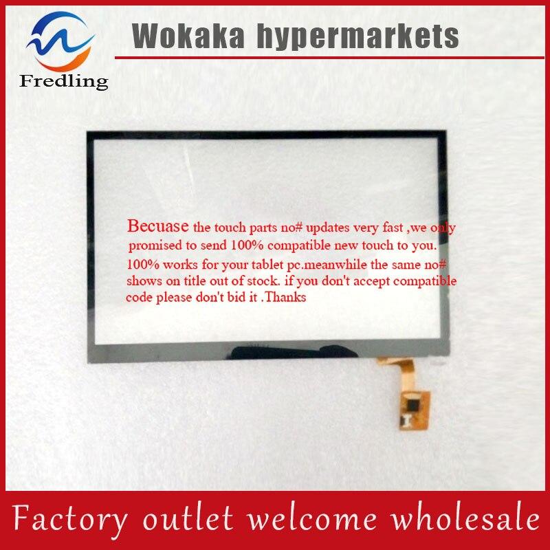 Original New black F-wgj10196-V1 Touch screen Tablet PC digitizer Glass External panel Free Shipping free shipping f wgj70515 v1 touchscreen touch screen handwriting external screen